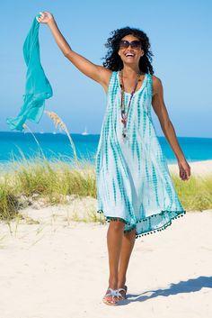 La Playa Dress - Capture a laid-back beachy vibe   Soft Surroundings