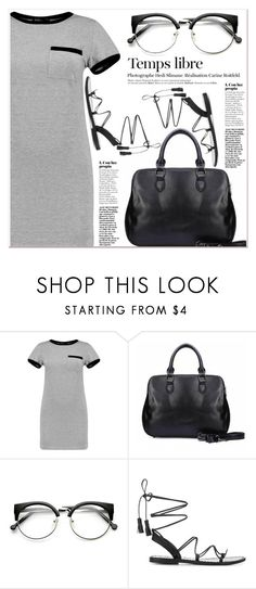 """""""Top  Motion"""" by janee-oss ❤ liked on Polyvore featuring MARA, Hedi Slimane and Anine Bing"""