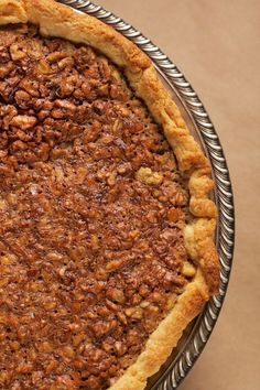 Make-Ahead Maple-Walnut Tart (Freezer-friendly for up to 2 weeks)