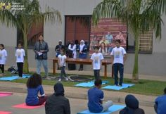 Themed under 'Yoga for Harmony and Peace', #TexilaAmericanUniversity organized their 4th session of #TexilaKnowledgeTalkSeries commemoratng  nternatonal Yoga Day on 29th May, 2018 at their Zambia campus.  Stressing on the importance of yoga for a healthier mind and body, the event was graced by chief guests Shri S.S. Barwal, Second Secretary, (Consular & Culture), High Commission of  ndia and Dr. Sharanya D. (Naturopathic & Lifestyle Consultant).