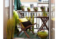 Piękne inspiracje: pomysły na małe balkony