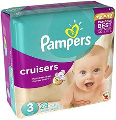 Pampers Baby Dry Diapers Economy Plus Pack, Size 3, 204 Count ...