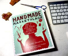 The Handmade Marketplace great book for starting your own DIY cultured business. Source: kalomarkeart.blogspot.com