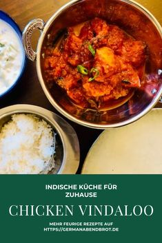 Friday Night Dinner Date: Chicken Vindaloo Chicken Vindaloo, Kimchi, Quick Easy Meals, Easy Dinner Recipes, Yummy Recipes, Vegan Recipes, Best Pizza Dough Recipe, Burger Night, Indian