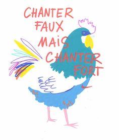 chicken posts - CAMILLE DE CUSSAC