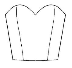 Draft a bodice with sweetheart neckline