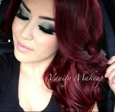 red wine hair color - Google Search