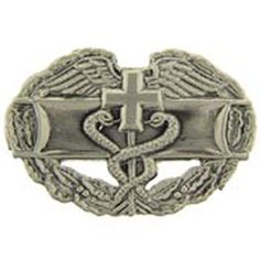 US Army Combat Medic Badge Pin