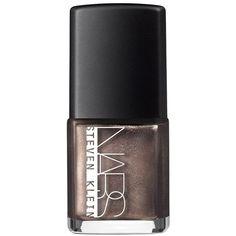Nars Nail Polish, Steven Klein x Nars Holiday 2015 Collection ($20) ❤ liked on Polyvore featuring beauty products, nail care, nail polish, hard to get, nars cosmetics and holiday nail polish