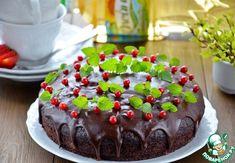 Постный шоколадный пирог с вишневым муссом ингредиенты