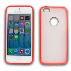 Apple iPhone 5C Red Frame Case