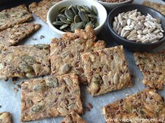 Blog o pečení všeho sladkého i slaného, buchty, koláče, záviny, rolády, dorty, cupcakes, cheesecakes, makronky, chleba, bagety, pizza. Healthy Cookies, Healthy Snacks, Healthy Eating, Low Carb Recipes, Vegan Recipes, Cooking Recipes, Vegan Food, Healthy Salt, My Favorite Food