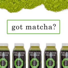 It's a long weekend and we are still feeling Matcha Monday.