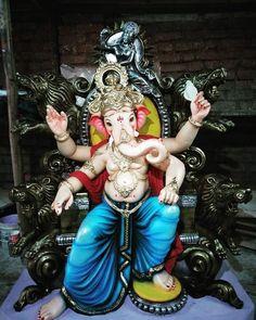 Image may contain: one or more people Om Ganesh, Ganesh Rangoli, Ganesh Lord, Ganesh Idol, Shree Ganesh, Ganesha Art, Ganpati Bappa Wallpapers, Durga Ji, Lord Ganesha Paintings