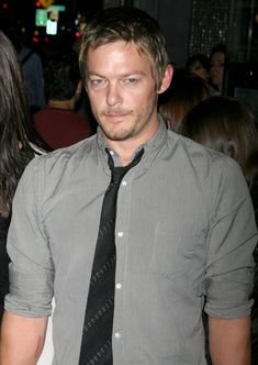 Norman Reedus Picture 5 - New York Premiere of The Burning Plain ...