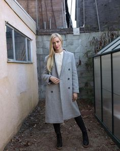 Instagram Beth Behrs, Coat, Jackets, Thursday, Instagram, Garden, Girls, Fashion, Down Jackets