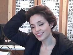 Angelina Jolie look alike is stunning.