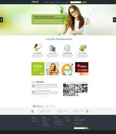 Criação website da empresa Inforce