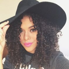 Rayza Nicácio - Cabelos crespos 2015: cortes e penteados