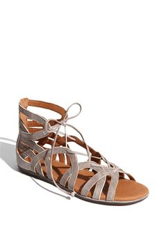 Just bought these since I can't wear heels right now.  Pricey but super cute and comfy.