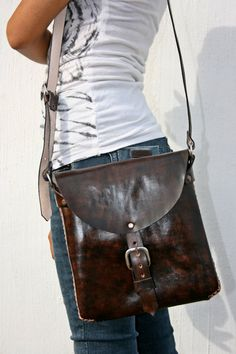Discounted Handcrafted Leather Purse by BiuluArtisanBoutique