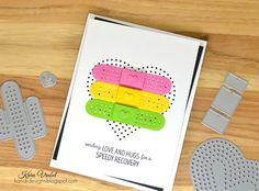 Kandrdesigns: WPlus9 Stuck On You, Needle Point Hearts, Love Showers Layers, Essentials By Ellen Bitty Envelope