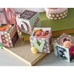 Scrapbook Blocks with Baby Photos