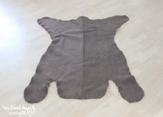 Hey everyone! Due to popular request, the first tutorial I will be sharing form June's Rustic Room , is this adorable bear rug! Nursery Bear Rug, Sticker Shock, Make Your Own, How To Make, Make It Yourself, Bear Skin Rug, Rustic Room, Happily Ever After, Quartos