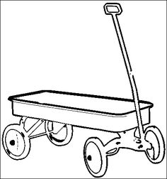 wagon coloring pages - 1000 images about classroom letter w on pinterest