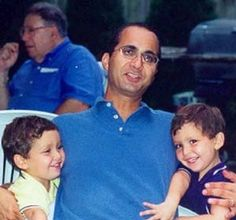 "Aram Iskendarian- 41, was Vice President of Global Risk Management at Cantor Fitzgerald @ WTC. Aram was a husband and father of four. Aram met his wife in high school and later the two would marry. She said, ""He was a very hands-on dad, very patient, very even-tempered, very giving."" #9/11 #project2996"