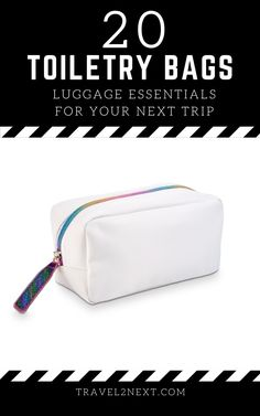 20 best travel toiletry bags. This toiletry bag has plenty of space, quality, and great design. One great feature about this one is it has strong zippers and another top feature is its multiple pockets. #toiletrybags #travels #travelshop #traveltips Travel Accessories For Men, Mens Travel, Travel Pants, Travel Toiletries, Toiletry Bag, Business Travel, Duffel Bag, Getting Organized, Luggage Bags
