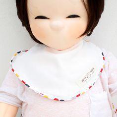 Cute Newborn Baby Bib Piping Bib Cotton Gauze Infant Toddler Handmade Eb233 #Ggoomduboo