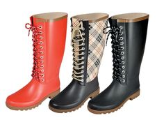 WOW! ON SALES FOR ONLY $24.99!!!! Rugged Shark Raindeers Rain Boots Ladies Waterproof Fashion Boot