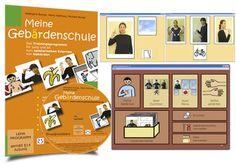 Meine Gebärdenschule: Trainingsprogramm zum spielerischen Erlernen von Gebärden