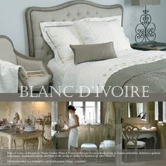 42 best blanc d\'ivoire deco images on Pinterest | Bed linen, Bed ...