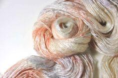 Lichtfaden REI Tussah Silk Mohair / The White Lady's Flowers