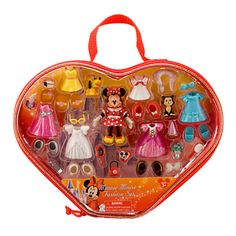 Disney Parks Minnie Mouse Polly Pocket Fashion Set New Mickey Mouse Gifts, Minnie Mouse Toys, Disney Animator Doll, Disney Dolls, Disney Parks, Walt Disney, Disney Princess Fashion, Disney Princess Toys, Barbie Birthday