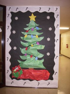 christmas bulletin board by rhonda parrish - Best Classroom Christmas Decorations
