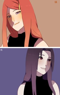 Uzumaki Kushina & Uchiha Mikoto. Both were really good friends and hoped that Naruto and Sasuke became really good friends, too, one day.