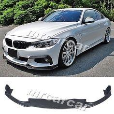 Carbon Fiber Front Lip Spoiler Fit For BMW F32 M-Sport M-tech Bumper 2014 2015 #Affiliate