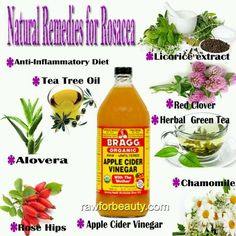 Natural Remedies for Rosacea. Rosacea is a chronic inflammatory skin condition which principally affects the face. Rosacea causes facial redness and produces small red pus-filled pustules (bumps). Natural Remedies For Rosacea, Rosacea Remedies, Acne Rosacea, Natural Cures, Natural Healing, Health Remedies, Ocular Rosacea, Diets, Medicinal Plants