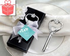 Key To My Heart Victorian Style Bottle Opener High Quality Wedding
