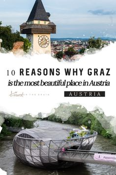 Is Graz the most beautiful city in Austria? Decide for yourself after seeing the gorgeous sights of Graz. Most Beautiful Cities, Beautiful Places To Visit, Cool Places To Visit, Places To Go, Visit Austria, Austria Travel, Travel Destinations, Travel Tips, Travel Europe