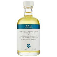 REN Skincare Atlantic Kelp and Microalgae Anti-Fatigue Bath Oil 110ml: Image 1