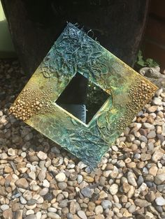 Outdoor Art, Mixed Media Art, Sea Glass, Decoupage, Polymer Clay, Decorative Plates, Gardening, Watch, Bottle