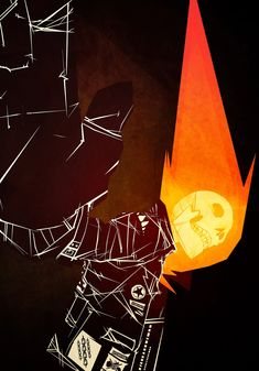 Ghost Rider - Marie Enger