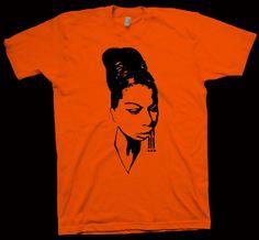 Nina Simone TShirt Billy Holiday Ella Fitzgerald  Miles por Sheraki, $16.99