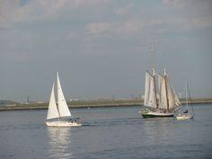 Sailing in Boston Harbor  ....(MML)