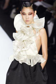 Han Jin at Bill Blass F/W 2008-09. | Keep the Glamour | BeStayBeautiful