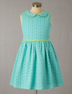 Broderie Party Dress